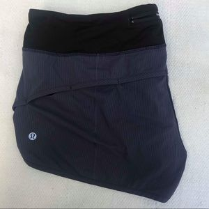 LULULEMON 10 navy blue shorts